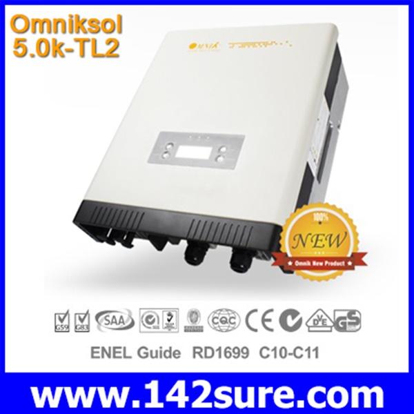 INV010 อินเวอร์เตอร์ โซล่าเซลล์ Solar Inverter Omniksol-5.0k-TL2 PV-Generate Power 5200W เทคโนโลยีจากประเทศเยอรมนี(สินค้า Pre-Order)