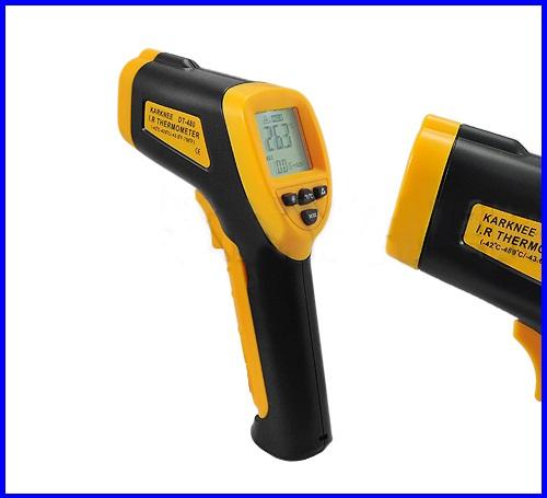 เครื่องวัดอุณหภูมิ เทอร์โมมิเตอร์อินฟาเรด มิเตอร์วัดอุณหภูมิอินฟาเรด DT-480 NEW Infrared Thermometer วัดอุณหภูมแบบอินฟาเรด -48 ถึง 480 องศา