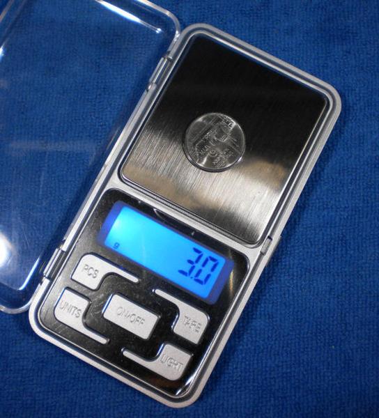 เครื่องชั่งระบบดิจิตอล แบบ 1 จุด Pocket Scale