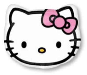 ลูกโป่งฟลอย์นำเข้า Hello Kitty Head / Item No. AG-21842 แบรนด์ Anagram ของแท้