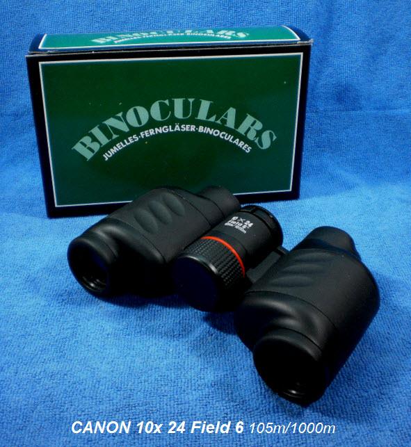 กล้องส่องทางไกลขนาดกลาง Canon 10x 24