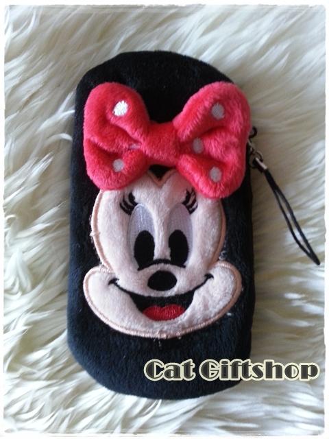 พร้อมส่ง :: ซองใส่มือถือ Minney Mouse