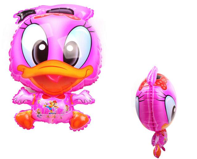 บอลลูนลายการ์ตูนโดนัลดักสีชมพู (แพ็ค10ใบ) / Item No. TL-A012