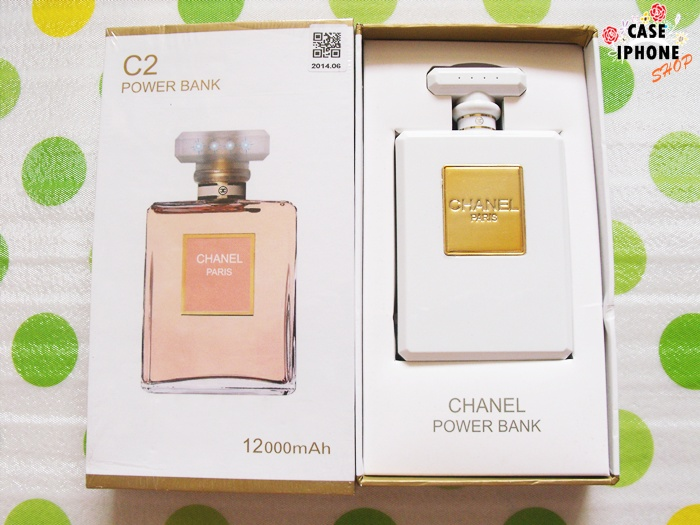 Power bank ขวดน้ำหอม Chanel C2 12000 Mah