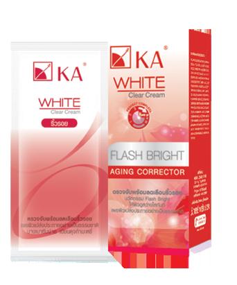 KA WHITE CLEAR CREAM