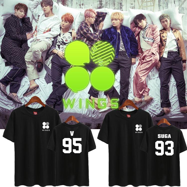 เสื้อยืด (T-Shirt) BTS WINGS (เมมเบอร์)