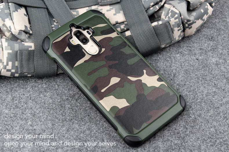 เคสกันกระแทกสองชั้นลายทหาร Huawei Mate 9