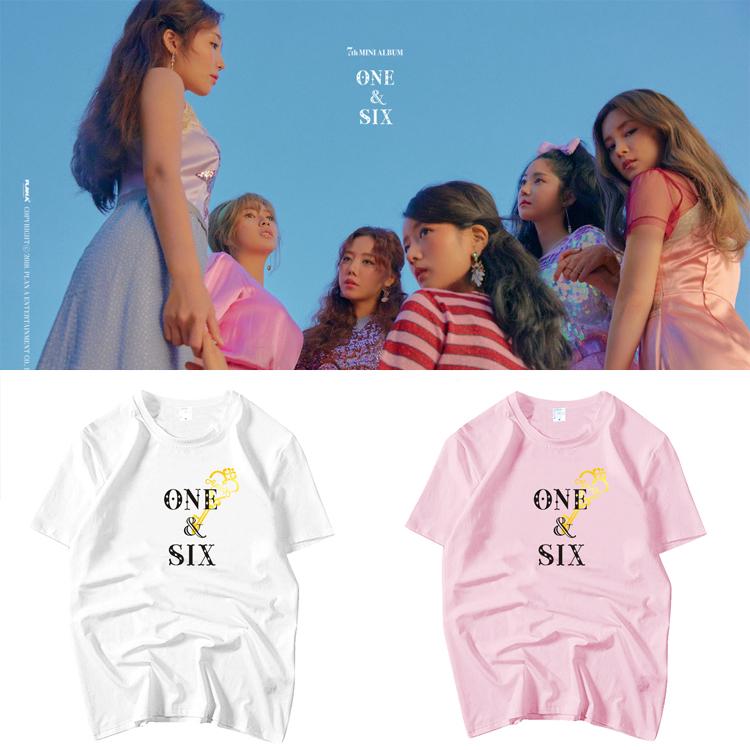 เสื้อยืด (T-Shirt) Apink - ONE & SIX
