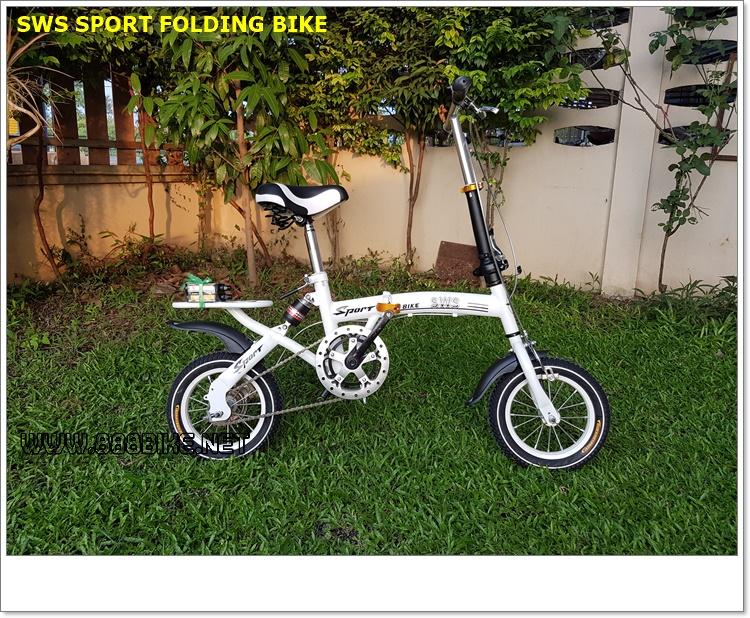"""จักรยานพับได้ SWiSS Egle SPORT ล้อ 12"""" Single Speed"""