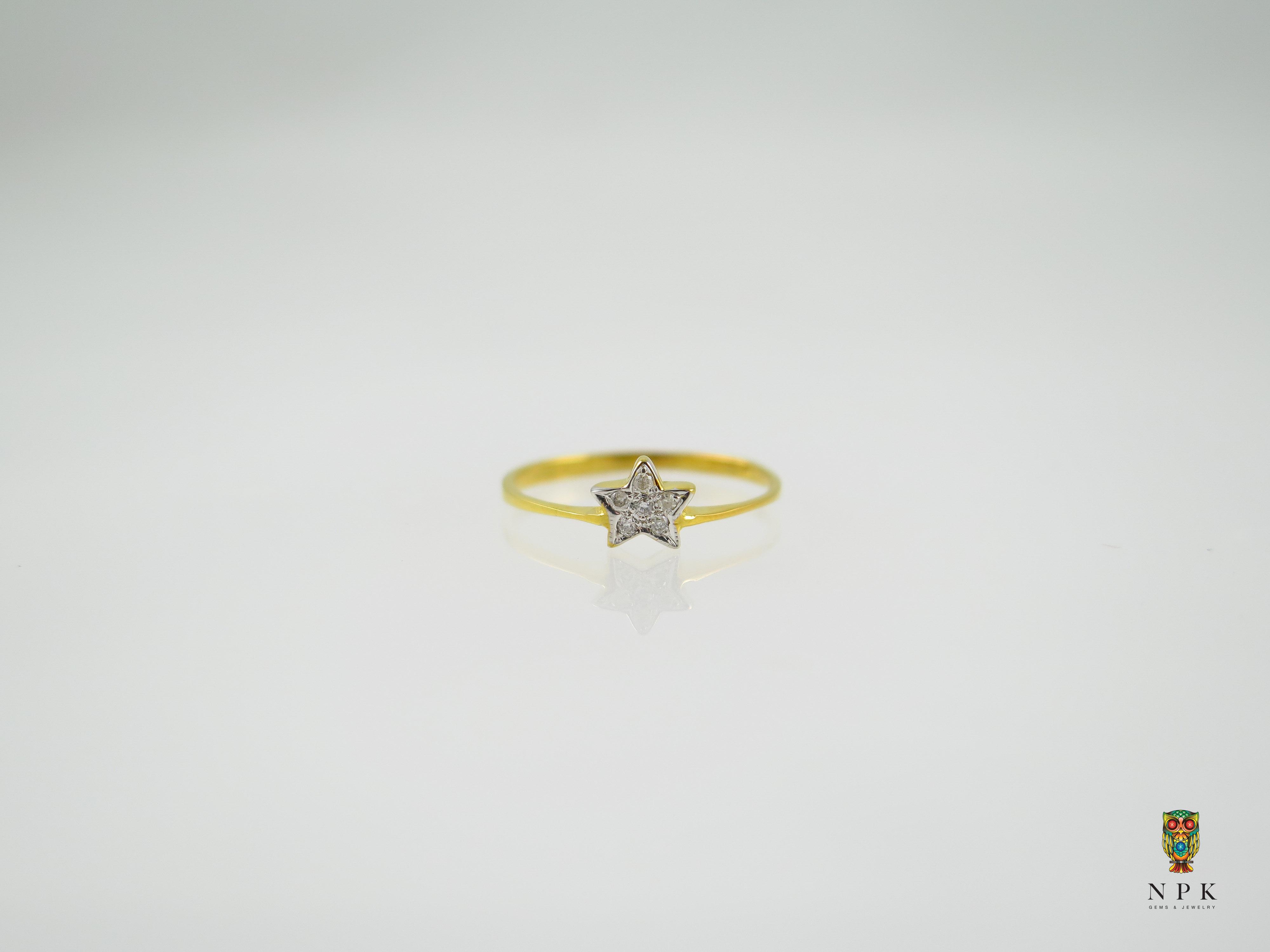 แหวนเพชรดาว