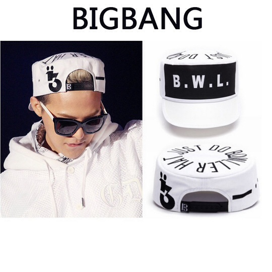 หมวกแฟชั่น BIGBANG KPOP G.D B.W.L