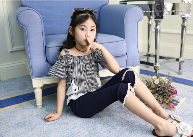 เสื้อ+กางเกง สีดำ แพ็ค 6 ชุด ไซส์ 100-110-120-130-140-150 (เลือกไซส์ได้)