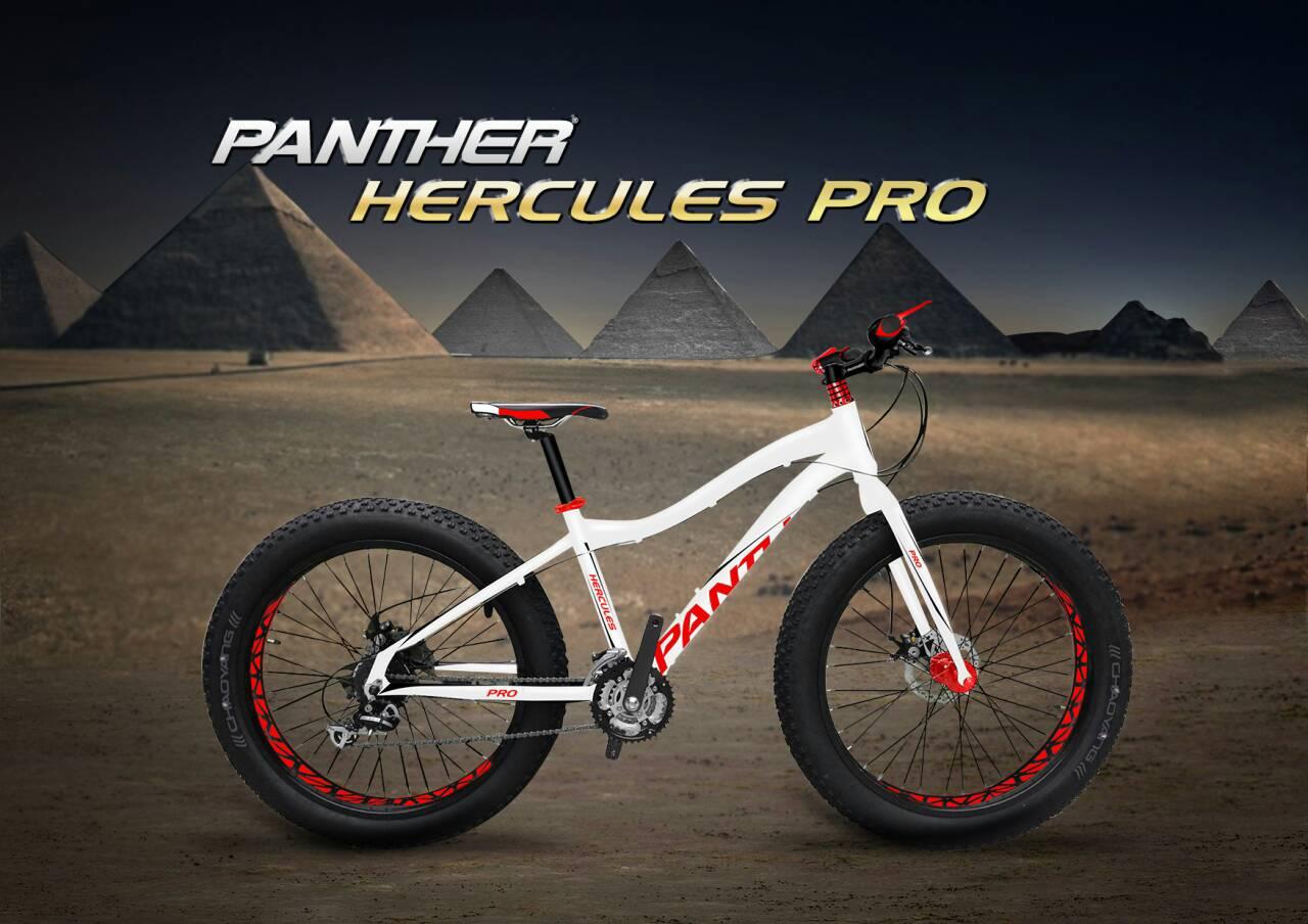 จักรยานล้อโต Panther Hercules 4.9 ,24 สปีด ดิสน้ำมัน เฟรมอลู ดุมแบร์ริ่ง 2016