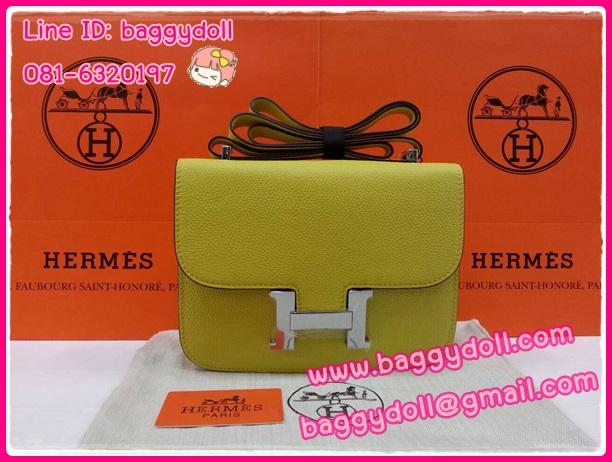 Hermes Constance23 Togo Leather Silver Hardware **เกรดท๊อปมิลเลอร์** (Hi-End)