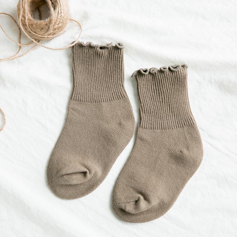 ถุงเท้าสั่น สีน้ำตาลอ่อน แพ็ค 12คู่ ไซส์ S (ประมาณ 1-3 ปี)