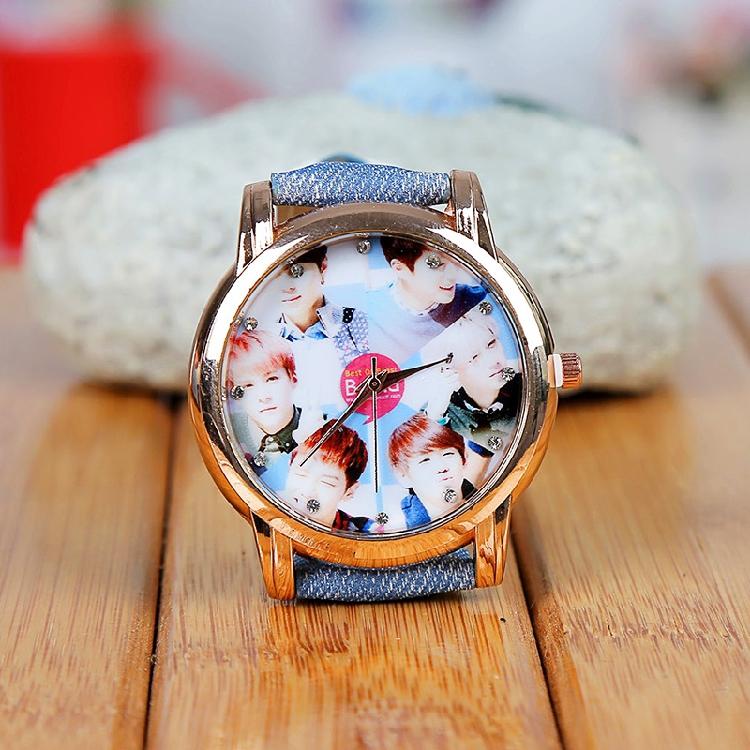 นาฬิกาข้อมือหน้าปัดทอง Beast