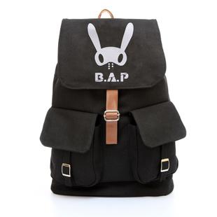 กระเป๋าสะพายหลัง B.A.P (สีดำ)