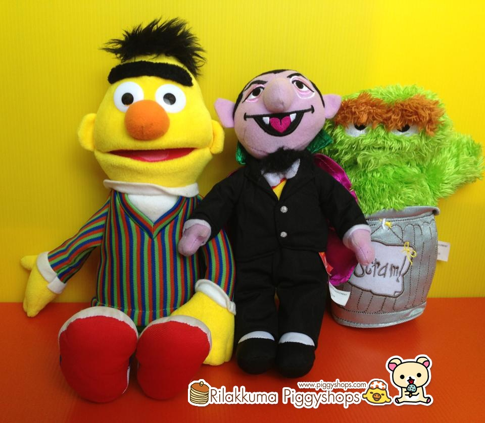 count of Sesame Street แดร็กคูล่ารุ่นฉลอง 40 ปี สูง 10 นิ้วครึ่ง
