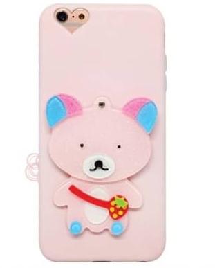 เคส tpu การ์ตูนซ่อนกระจก ไอโฟน 7 4.7 นิ้ว-หมี(ใช้ภาพรุ่นอื่นแทน)