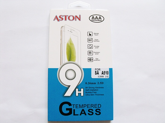 ฟิล์มกระจก ASTON Samsung (A5/2016 A510)