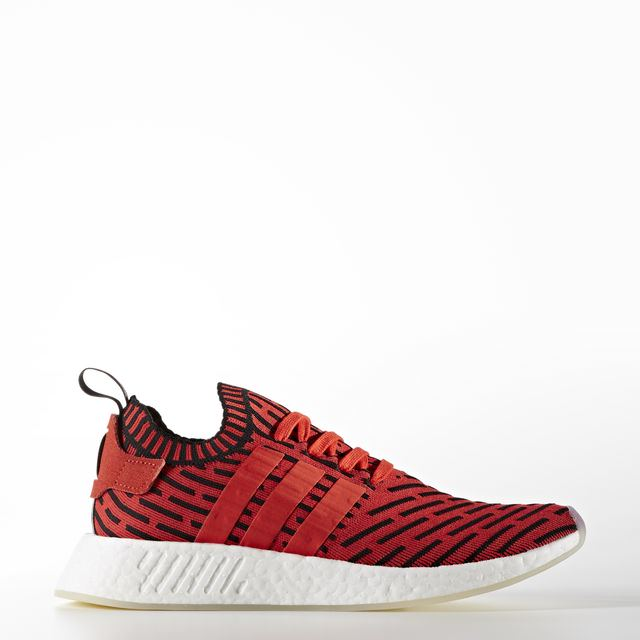 adidas Originals NMD R2 Primeknit Color Core Red/Footwear White