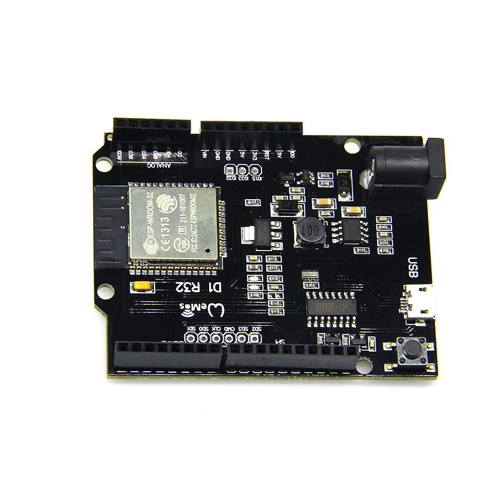 WeMos TTgo ESP32 WiFi + Bluetooth UNO D1 R32