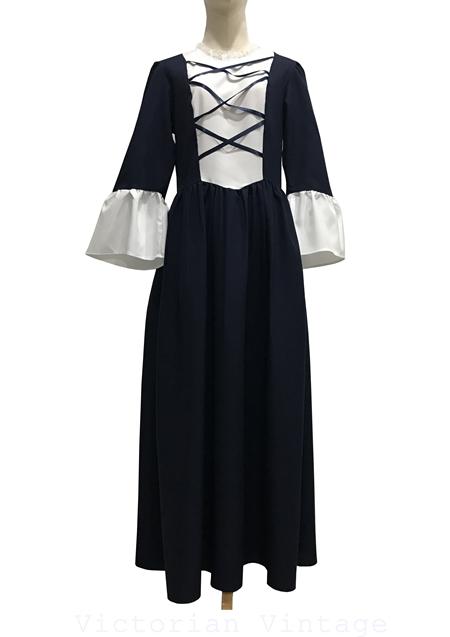 ชุดออกงานวินเทจ Maxi dress BRAND : CHARADES MADE IN U.S.A.