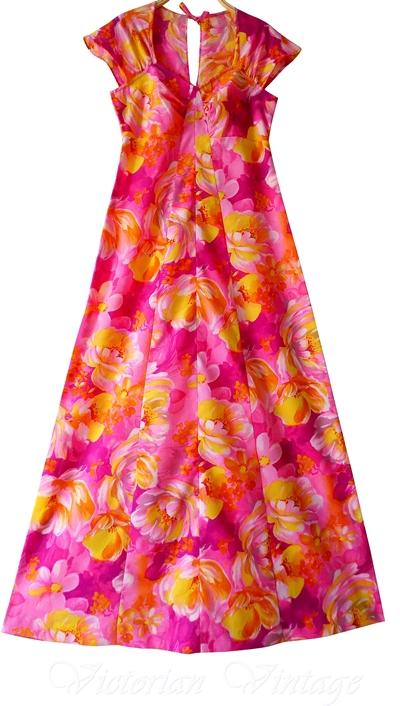 ชุดฮาวาย Maxi Dress
