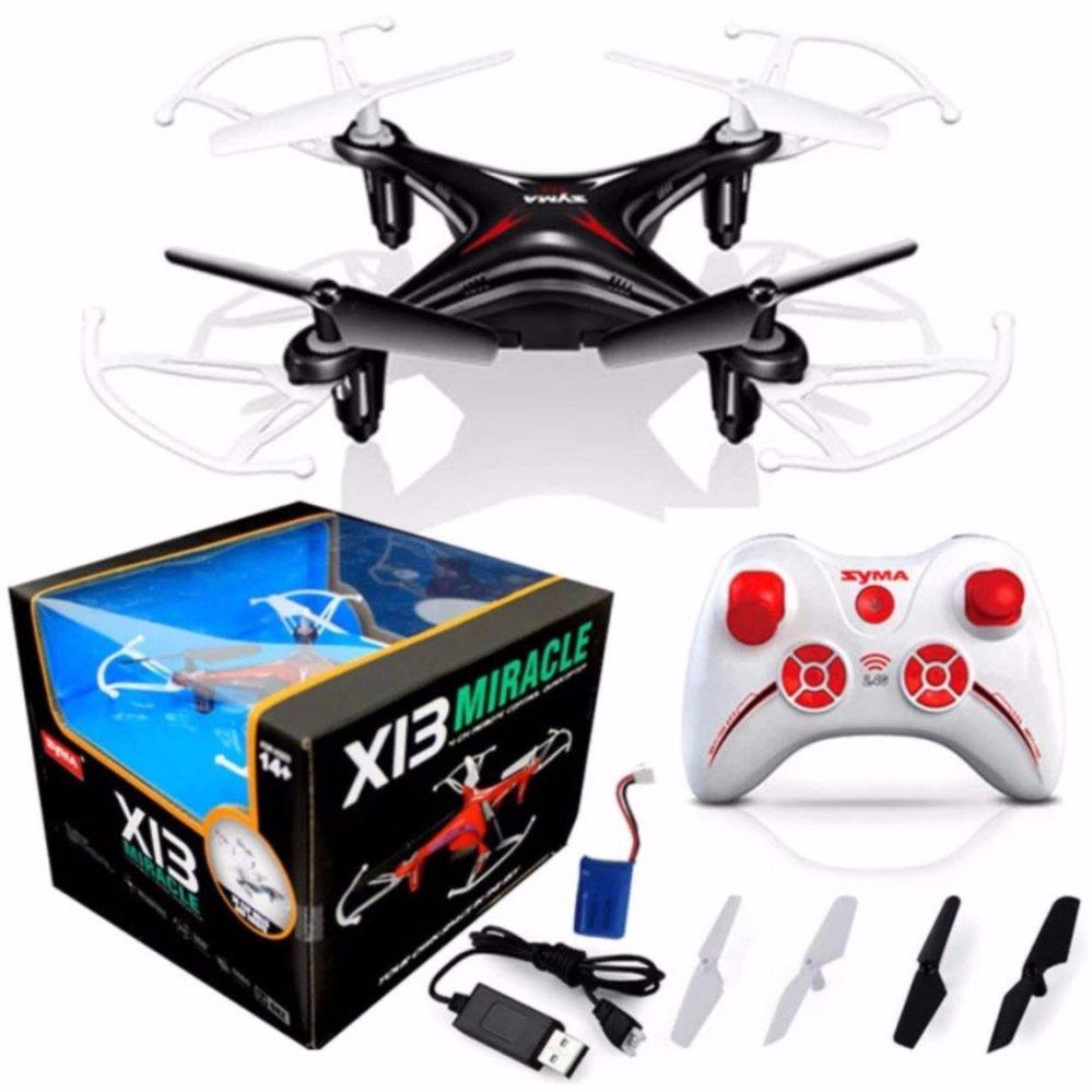 โดรน SYMA X13 RC Drone Gyro 6 Axis 2.4G 4CH (สีดำ )