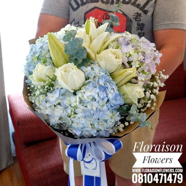 ช่อดอกไม้ แสดงความยินดี (L)