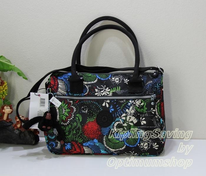 Kipling Beckie Floral Brust กระเป๋าถือ และสะพาย ขนาด L12.75 x H 9 x D 6 นิ้ว