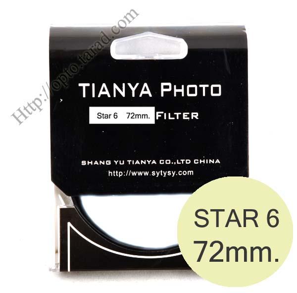 TIANYA Star 6 Filter 72mm.