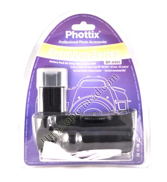 Phottix BP-A900 Premium Grip for Sony A900 A850 VG-C90AM(Compatible) New