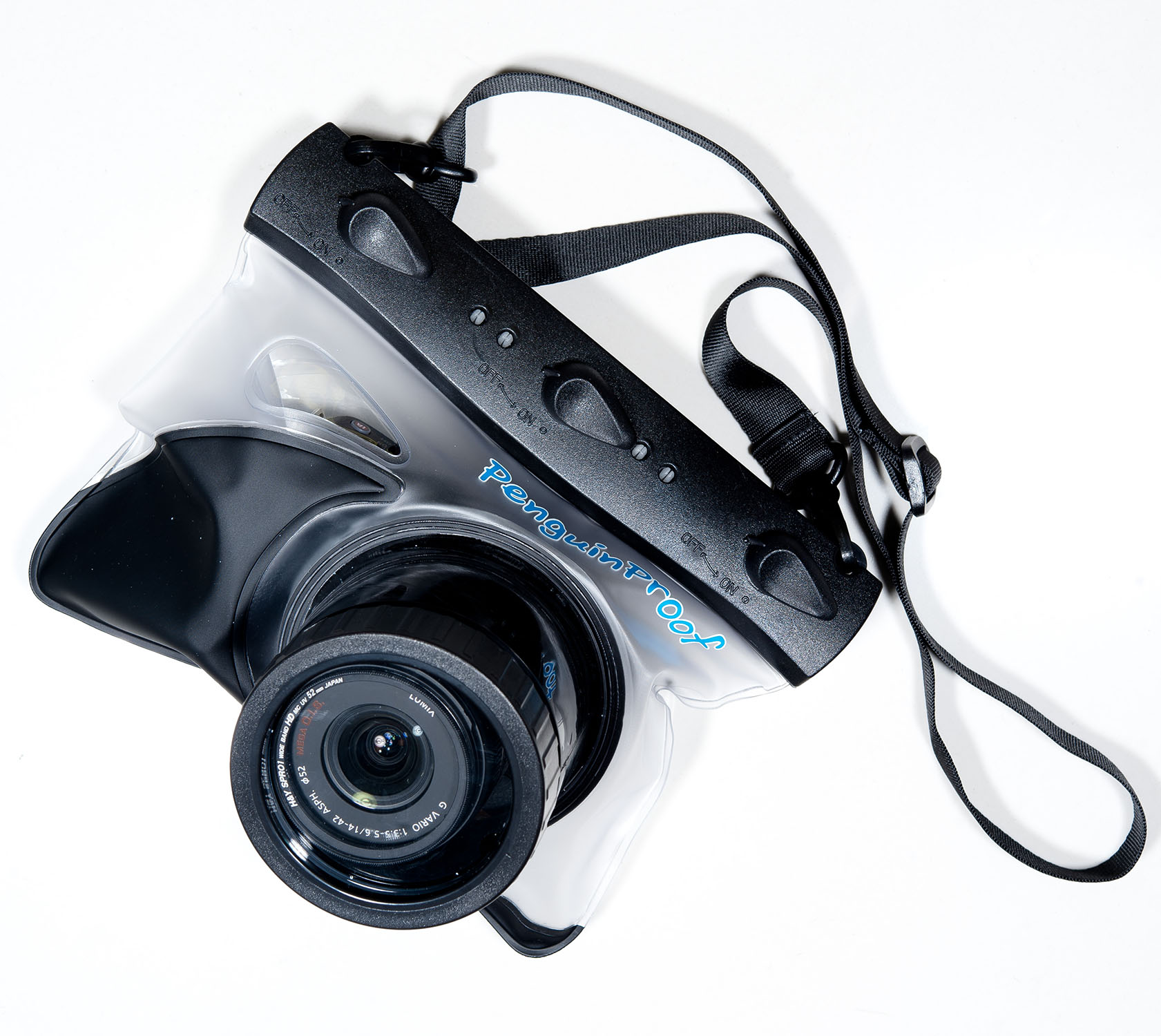 MD-07 Pro ซองกันน้ำสำหรับกล้อง Mirrorless ที่มีช่องมองภาพ (Viewfinder) หรือ ขนาดใหญ่ หน้าอะคริลิค