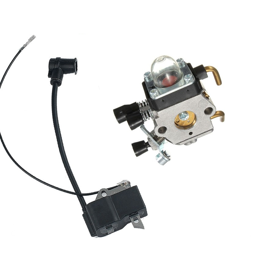 IGNITION COIL CARBURETOR For STIHL TTIMMER FS38 FS45 FS55 FS75 FS80 FS85 FC85 HT70 HS75 KM55 KM80 KM85