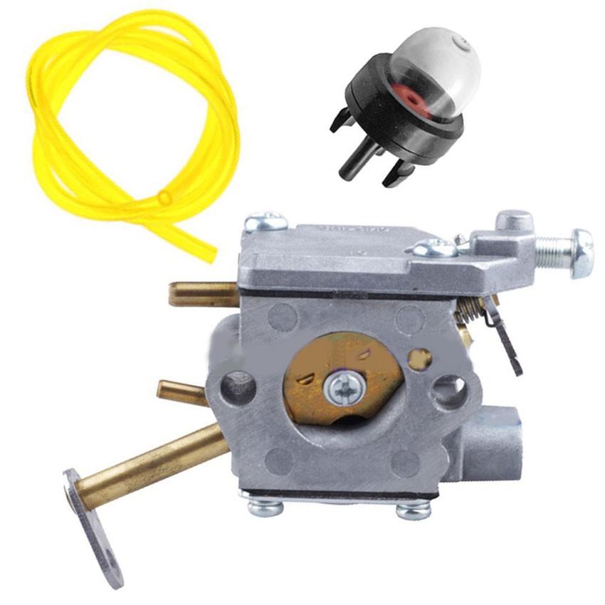 Carburetor & Fuel Line & Primer Bulb SERVICE KIT for Homelite UT-10532 Chainsaw Carb 300981002