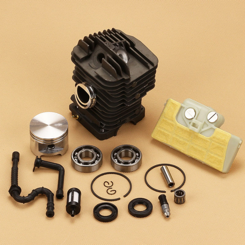 Cylinder Piston pin Sets +Air Fuel line Filter For Sti h l 029 MS290 039 MS390 MS310 Chainsaw Replace # 1127 020 1216