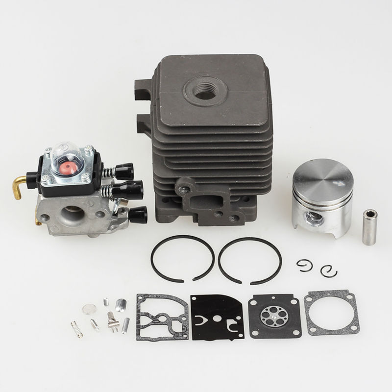 New 34mm Cylinder Piston Kits Fit STIHL FS55 FS45 BR45 KM55 HL45 HS45 KM55 HL45 HS45 HS55 Trimmer Carb 4140 020 1202