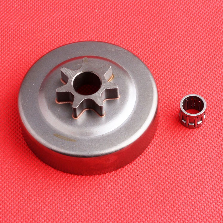 """Clutch Cover Drum Chain Sprocket Rim Fit Chainsaw STIHL 021 023 025 MS230 MS250 325"""" 7T"""
