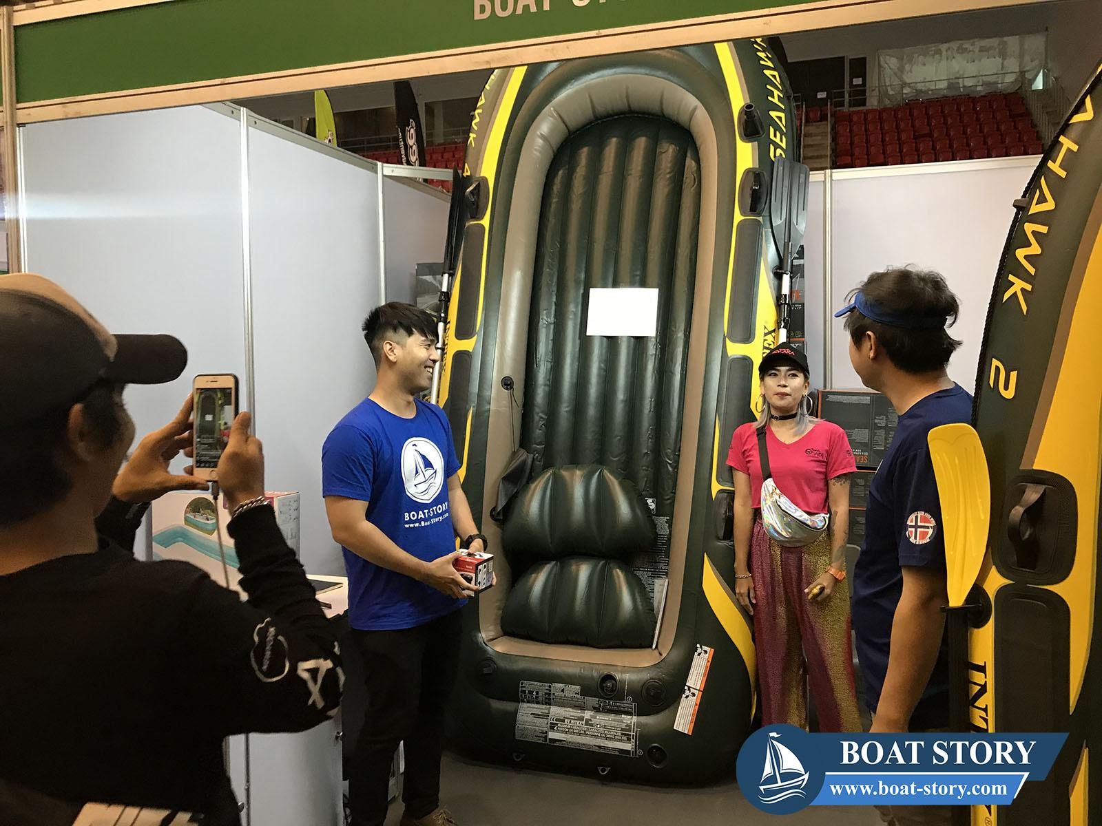 เรือยาง Intex Boat Story