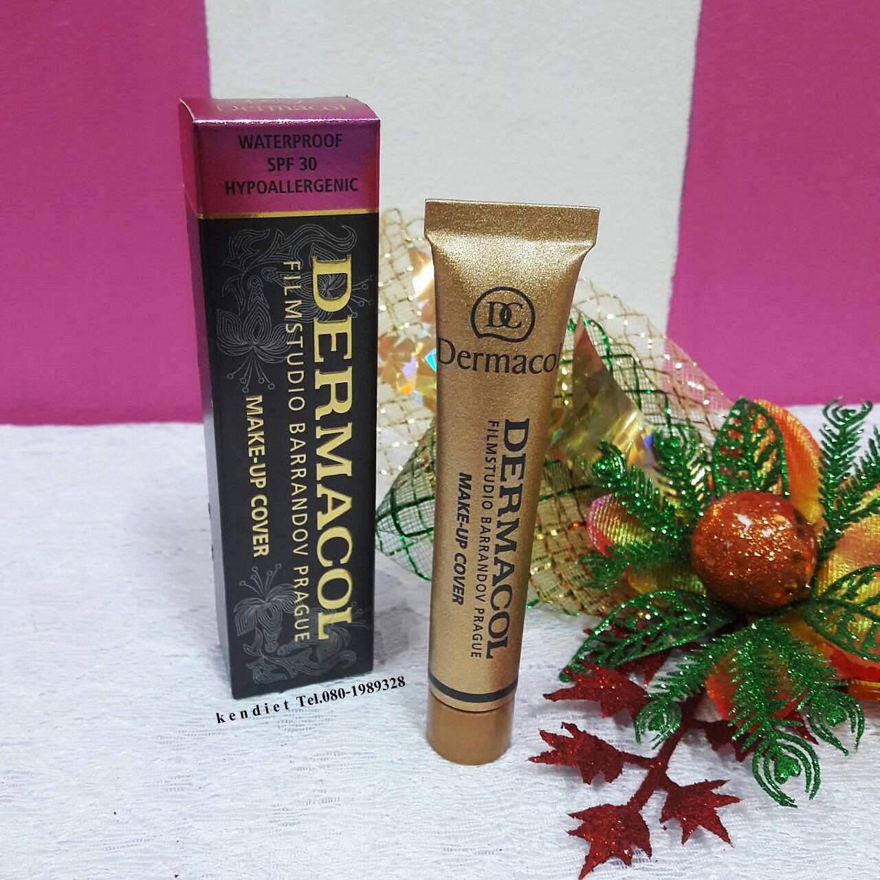 Dermacol make-up cover เดอร์มาคอล เมคอัพ คัพเวอร์ รองพื้นเทพ 650 บาท ส่งฟรี ems