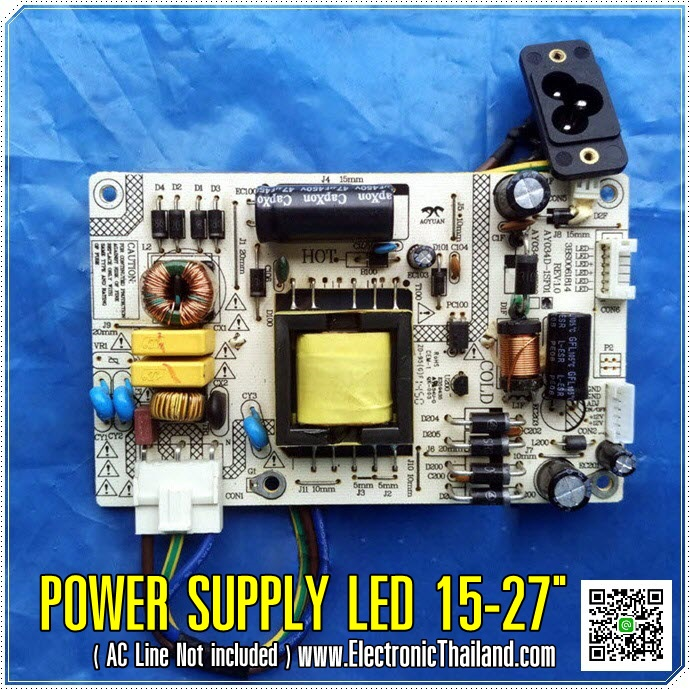 POWER SUPPLY FOR LED 15-27""
