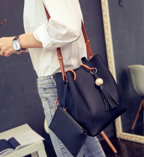 กระเป๋าlผู้หญิง Dumpling Black
