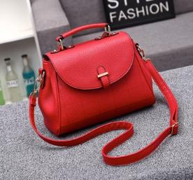 กระเป๋าถือ Alora (สีแดง)