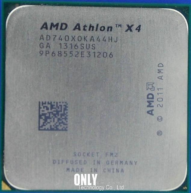 FM2 Athlon X4 740 3.7Ghz