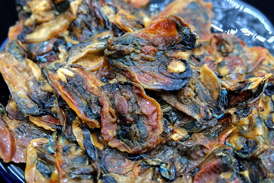 อาหารทะเลแห้ง หอยแมลงภู่ผ่า (2ขีด)