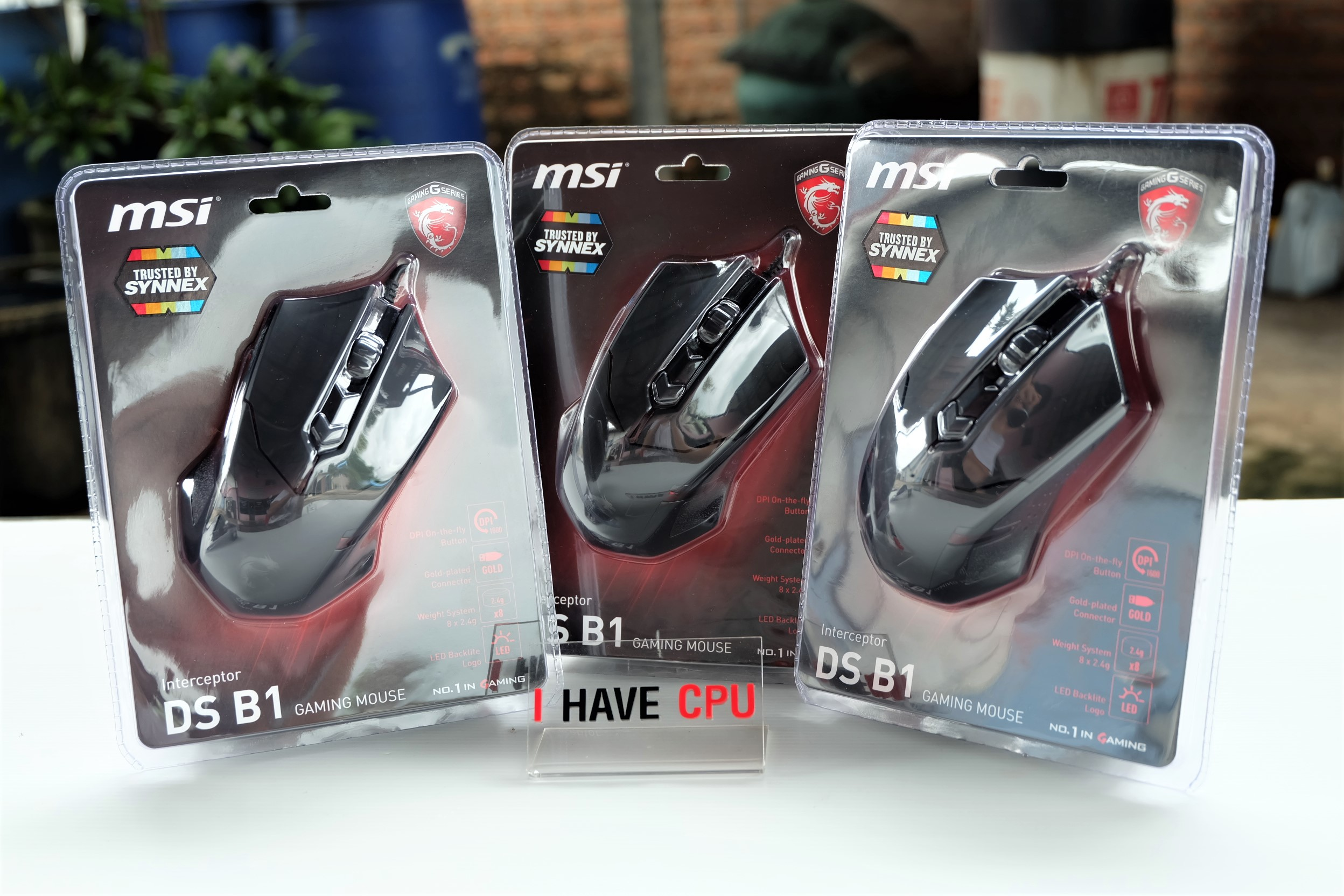 Interceptor MSI DS B1 Gaming Mouse