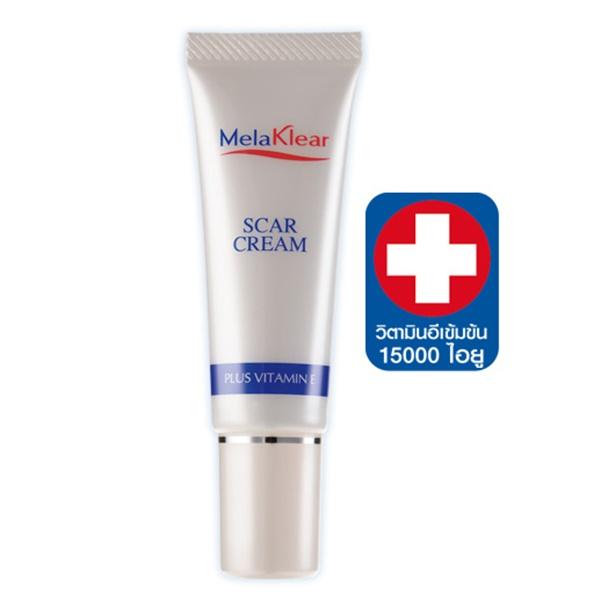 Melaklear Scar Cream plus Vitamin E เมลาเคลียร์ สการ์ ครีม พลัส วิตามิน อี