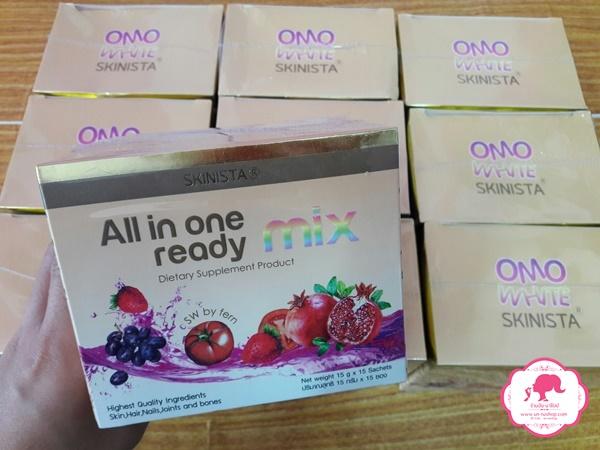 All in one ready mix by SKINISTA ออล อิน วัน เรดี้ มิกซ์ ล็อคความเด็ก คืนความอ่อนเยาว์ ชะลอความแก่ ได้แบบเห็นผลจริง