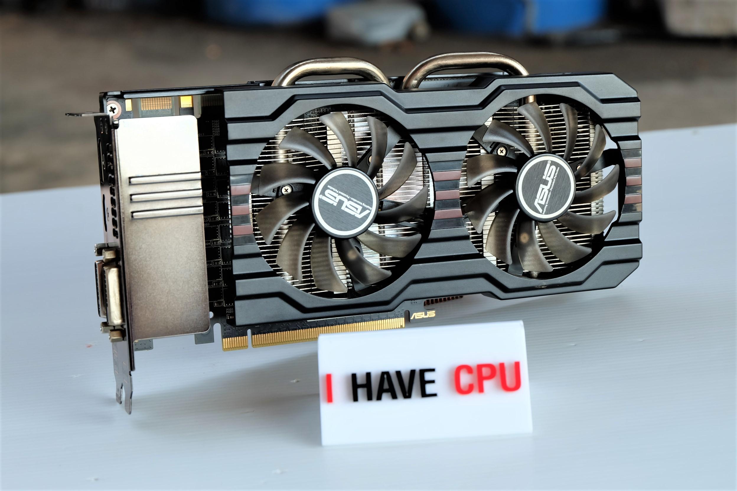 ASUS GTX 660 Ti DirectCU II 2GB